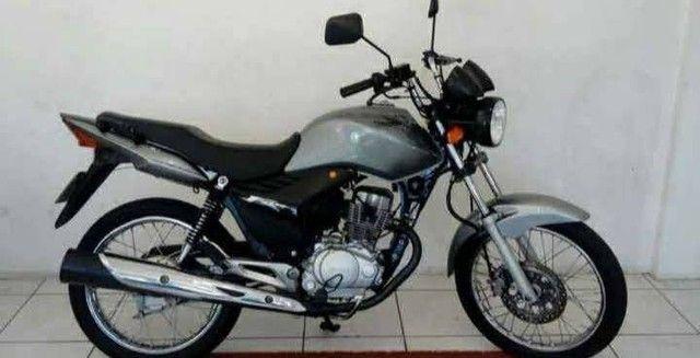 Honda CG 150 (Prata) No Preço...  - Foto 2
