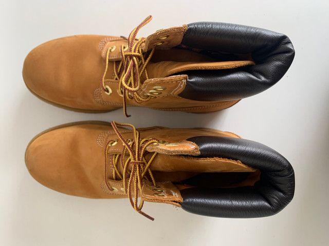 Bota Timberland - Yellow Boots - a prova d?água n39 - Foto 3