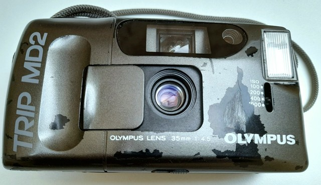 Câmera Fotográfica Olympus Trip MD2 Analógica!