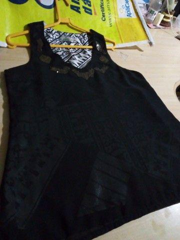Camiseta feminina TAMANHO 38 M - Foto 2
