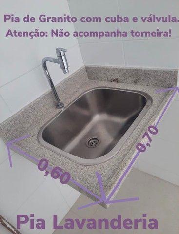 Pia de Granito - Conjunto de Pia Cozinha e Pia Lavanderia - Foto 3
