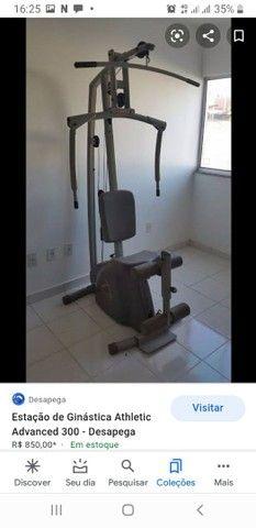 Estação de exercício Athletic
