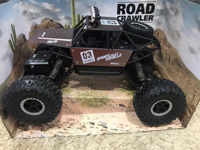 Carrinho metal Crawler 4x4 RC 2.4.Monster Truck - Foto 3