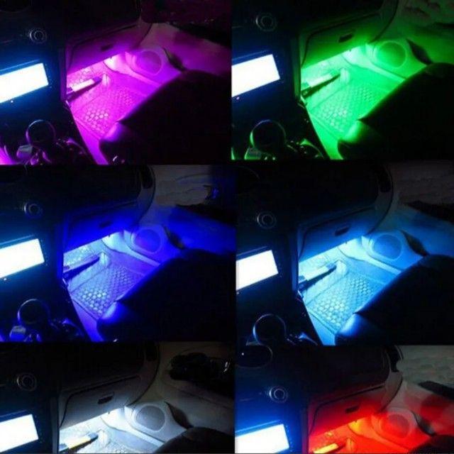 Led neon para tapetes de carros no ascendedor de cigarros - Foto 3