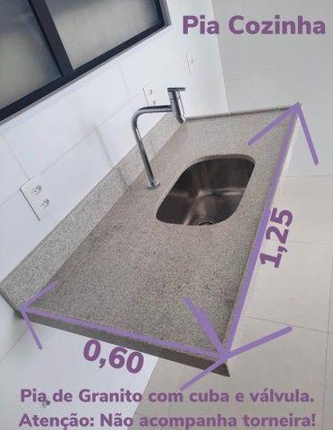 Pia de Granito - Conjunto de Pia Cozinha e Pia Lavanderia - Foto 2