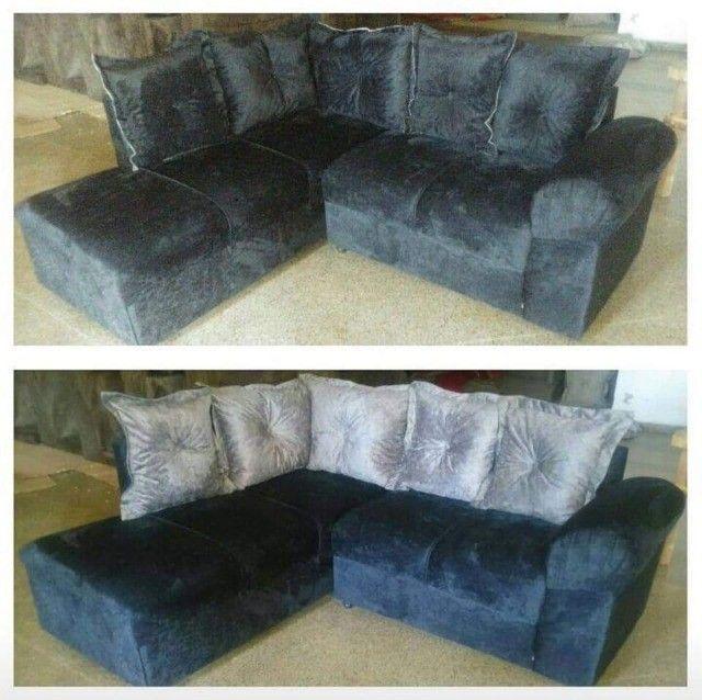 Sofa de canto Larissa direto da fabrica - Foto 6