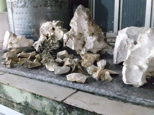 rochas sanzibar para aquario de água doce ou salgada - Foto 4