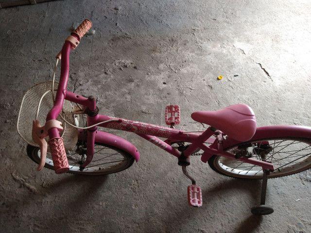 Bicicleta rosa  - Foto 6