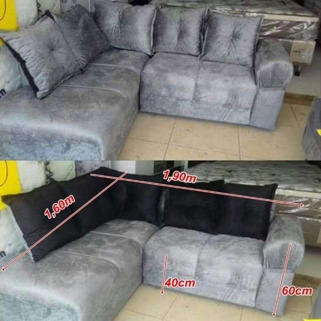 Sofa de canto Larissa direto da fabrica - Foto 5