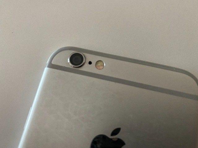 iPhone 6 64gb branco e prata usado - Foto 6
