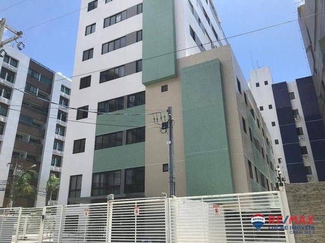 Apartamento com 1 dormitório para alugar, 39 m² por R$ 1.900,00/mês - Cabo Branco - João P - Foto 2