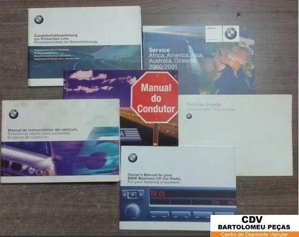Manual de instruções BMW 528 2000/01