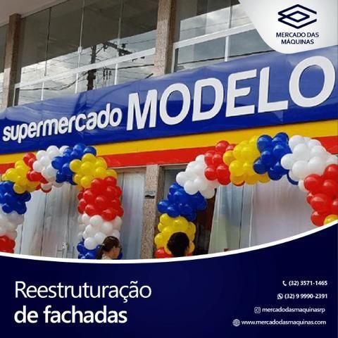 Ampliação e modernização de supermercados - Projeto completo - Foto 2