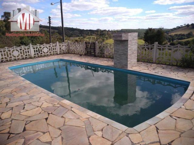 Lindo sítio com 02 alqueires, nascente, perto da cidade, piscina em Pedra Bela sp - Foto 9