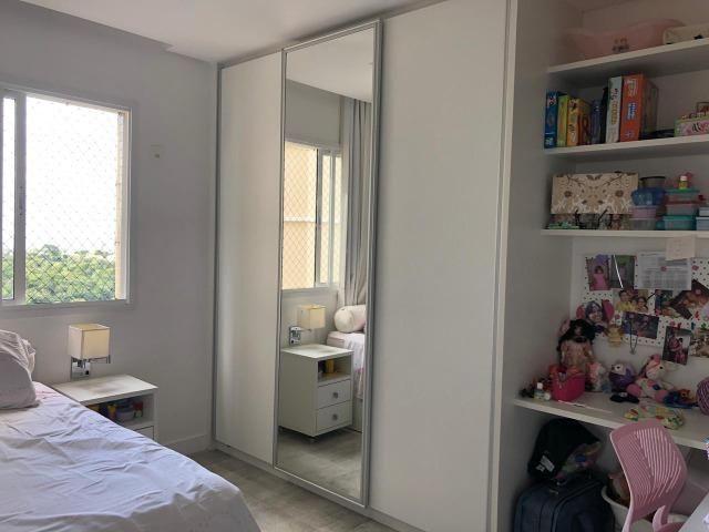 Apartamento 3/4 + Home Office Platno GreenVille Andar Alto Vista Bosque - Foto 7