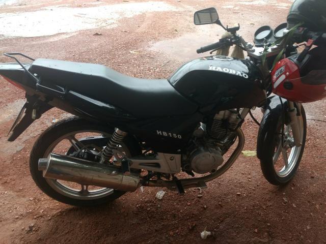 Moto haobao 15 preta - Foto 2