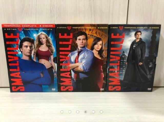 Coleção Completa 10 Temporadas Dvds Originais Smallville - Foto 5