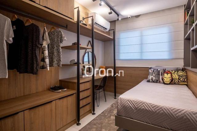 Loft com 1 dormitório à venda, 63 m² por r$ 352.340,00 - setor bueno - goiânia/go - Foto 15