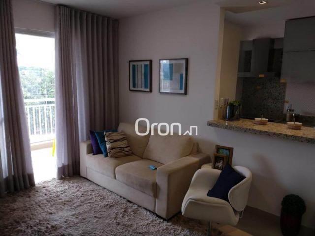 Apartamento com 3 dormitórios à venda, 94 m² por r$ 380.000,00 - parque amazônia - goiânia - Foto 10