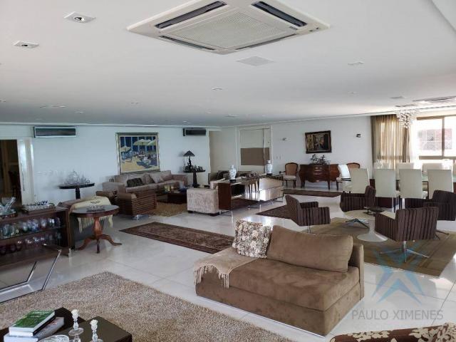 Apartamento alto padrão para alugar, 550 m² por r$ 20.000/mês - meireles - fortaleza/ce - Foto 7