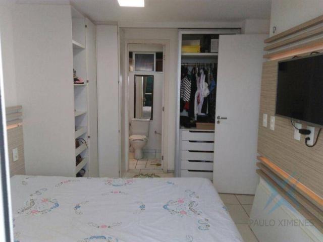 Apartamento com 3 dormitórios à venda, 74 m² por r$ 410.000,00 - cambeba - fortaleza/ce - Foto 9