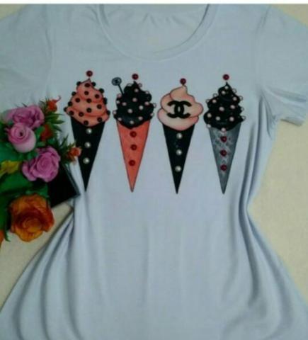 T-shirts Novas - Foto 5