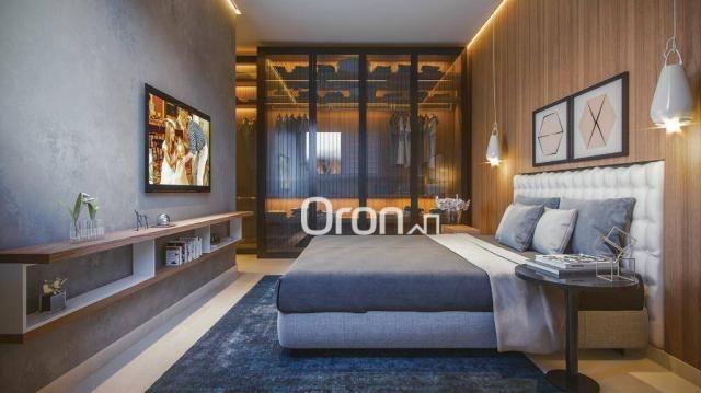 Apartamento com 3 dormitórios à venda, 92 m² por r$ 340.000,00 - parque amazônia - goiânia - Foto 2