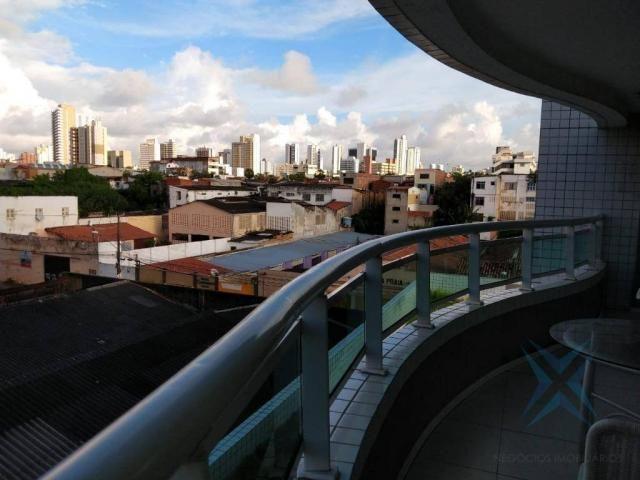 Apartamento com 1 dormitório à venda, 48 m² por r$ 300.000 - praia de iracema - fortaleza/ - Foto 14