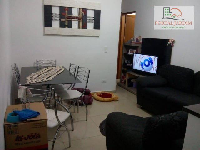 Apartamento com 2 dormitórios para alugar, 50 m² por r$ 1.300/mês - vila alto de santo and - Foto 9
