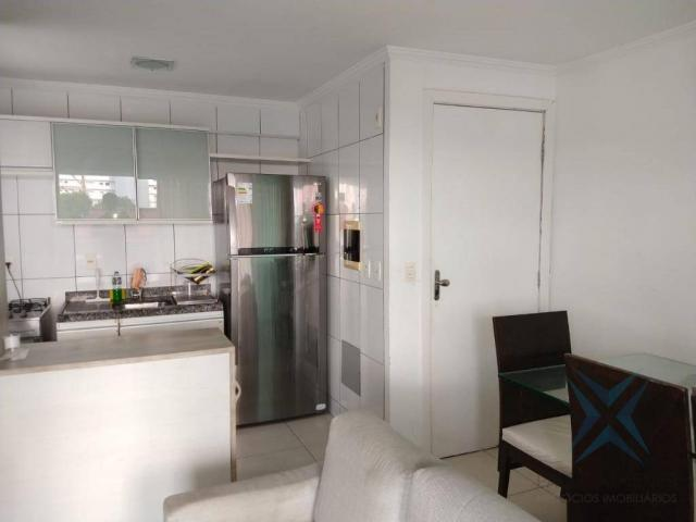 Apartamento com 1 dormitório à venda, 48 m² por r$ 300.000 - praia de iracema - fortaleza/ - Foto 3