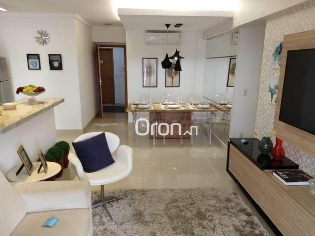 Apartamento com 3 dormitórios à venda, 94 m² por r$ 380.000,00 - parque amazônia - goiânia - Foto 8