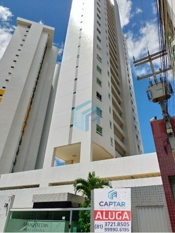 Apartamento, 1 quarto, Semimobiliado, Mauricio de Nassau, Edifício Manhattan