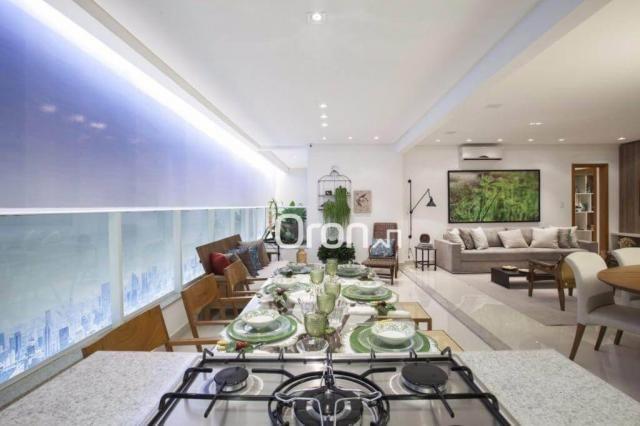 Apartamento com 3 dormitórios à venda, 154 m² por R$ 981.000,00 - Alto da Glória - Goiânia - Foto 12