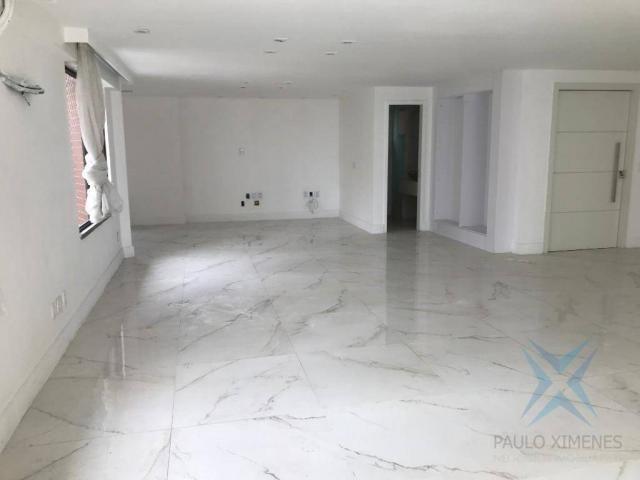 Apartamento com 4 dormitórios à venda, 357 m² por r$ 2.680.000,00 - meireles - fortaleza/c - Foto 9
