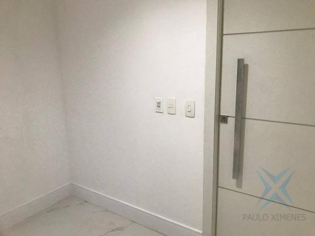 Apartamento com 4 dormitórios à venda, 357 m² por r$ 2.680.000,00 - meireles - fortaleza/c - Foto 3
