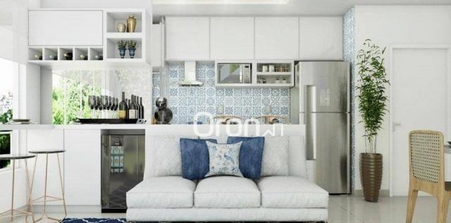 Apartamento com 2 dormitórios à venda, 56 m² por R$ 198.000,00 - Condomínio Santa Rita - G - Foto 6