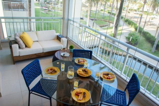 Golf Ville Apartamento alto padrão 3 suítes com varanda gourmet - Foto 5