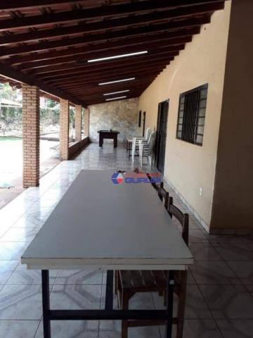 Chácara com 2 dormitórios para alugar, 1000 m² por R$ 2.200/mês - São Benedito da Capelinh - Foto 8