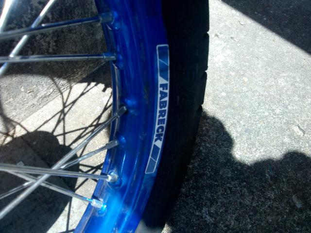 Rodas para YBR freio tambor