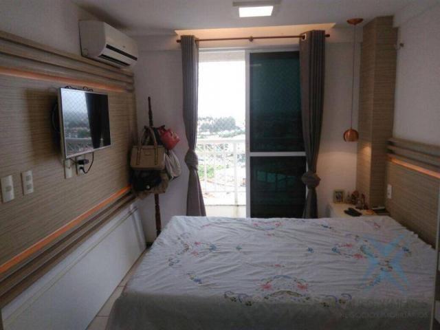 Apartamento com 3 dormitórios à venda, 74 m² por r$ 410.000,00 - cambeba - fortaleza/ce - Foto 3