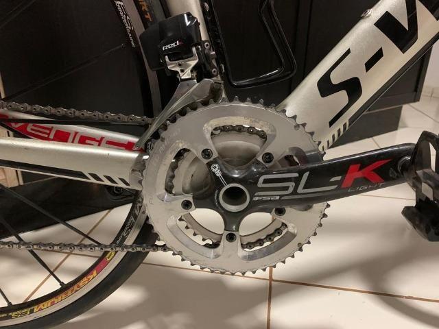 Specialized venge s-works sram red etap 22v eletrônico bike bicicleta aero carbono - Foto 4