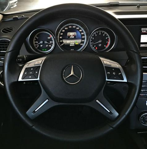 Mercedes Benz C180 Sport Turbo 1.6. Branco 2013/2014 - Foto 10