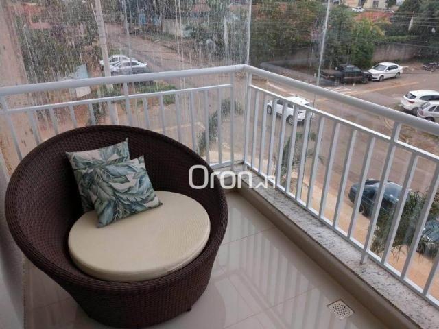 Apartamento com 3 dormitórios à venda, 94 m² por r$ 380.000,00 - parque amazônia - goiânia - Foto 13