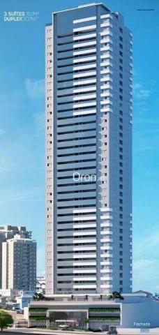 Apartamento com 3 dormitórios à venda, 154 m² por r$ 770.000,00 - setor bueno - goiânia/go