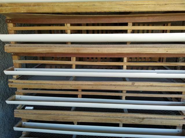 Vendo 2 gaiolas para codorna capacidade pra 700 codornas - Foto 3