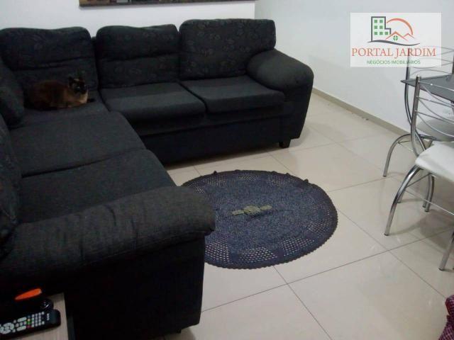 Apartamento com 2 dormitórios para alugar, 50 m² por r$ 1.300/mês - vila alto de santo and - Foto 3