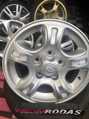 Rodas ChevroletAro 15 S10 e Blazer 5Furo - Foto 2