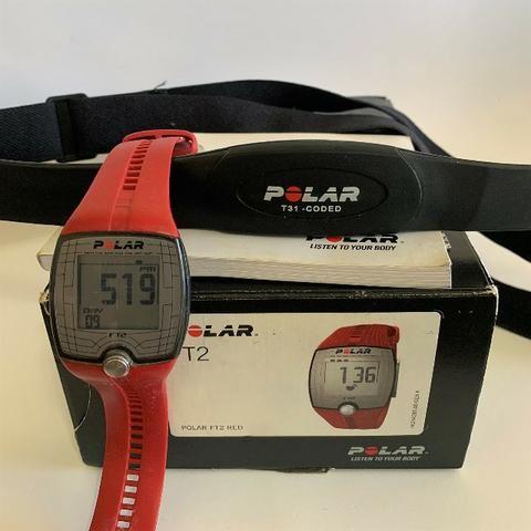 e332eaa809a Monitor Cardíaco Polar Ft1 -  ROSA  - com cinta de transmissão ...