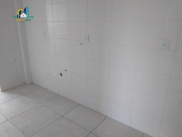 Apartamento residencial para locação, Vila Guilhermina, Praia Grande. - Foto 4