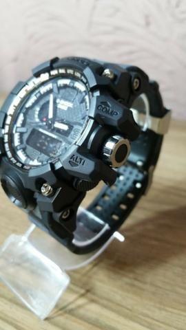 ffc68cfe614 Relógio g-shock militar camuflado analógico e digital 100% funcional  (promoção)